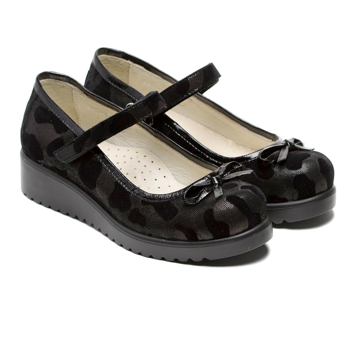 Туфли FS Сollection кожаные для девочек, размер 28-36