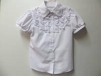 Нарядная блузка для девочки 6-12 лет