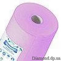 Простыни спанбонд в рулоне 0,6м*100п.м., 20 г/м2, лиловый, Panni Mlada