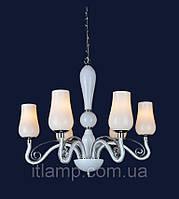 Люстра в белом цвете стекло Art720lstP8034_6