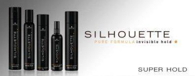 Средства для стайлинга супер сильной фиксации Schwarzkopf Professional Silhouette Super Hold