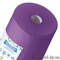 Простыни  спанбонд в рулоне 0,6м*100п.м., 20 г/м2, фиолетовый, Panni Mlada