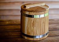 Кадка конусная дубовая 5 литров, фото 1