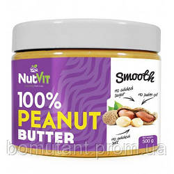 100% Peanut Butter 500 гр smooth OstroVit