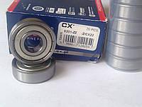 Однорядный подшипник CX 6201 2Z (12х32х10)
