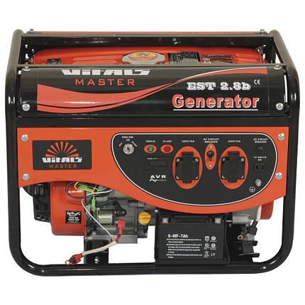 Генератор бензиновий Vitals Master EST 2.8 b (3кВт), фото 2