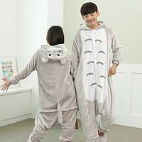 Кигуруми мой сосед Тоторо  пижама теплая махровая комбинезон