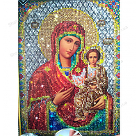 "Алмазная живопись""Богородица"" Diamond Mosaic"