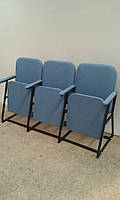 """Кресло для актового зала  """"Реал"""". Мягкая мебель от производителя."""
