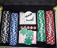 Покер набір в алюмінієвому кейсі-200 IG-2056