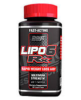 Lipo-6 rx 60 капс. (жиросжигатели)