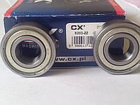 Подшипник CX 6203 2Z (17x40x12) однорядный