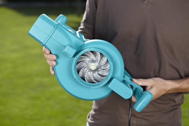 Металлическая крыльчатка электрической воздуходувки Gardena