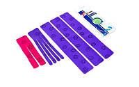 Кинезио тейп для плеча (Kinesio tape, KT Tape) эластичный пластырь
