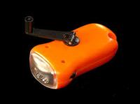Ліхтарик LEMANSO 3 LED / LMF37 + сонячна батарея коричневий