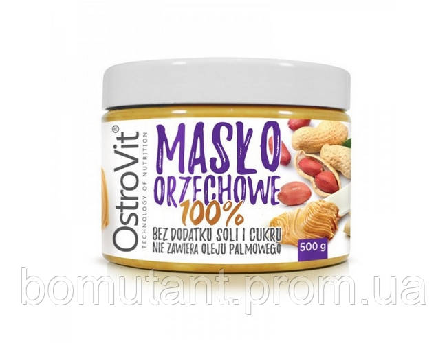 Maslo Orzechowe 500 гр z miodem OstroVit