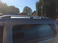 Рейлинги  Volkswagen Caddy Maxi (2005-2010) /тип Crown,Черные
