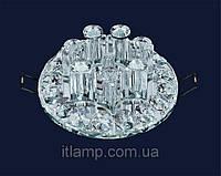 Светильник с плафоном и стразами Art712lstA3654хром\проз