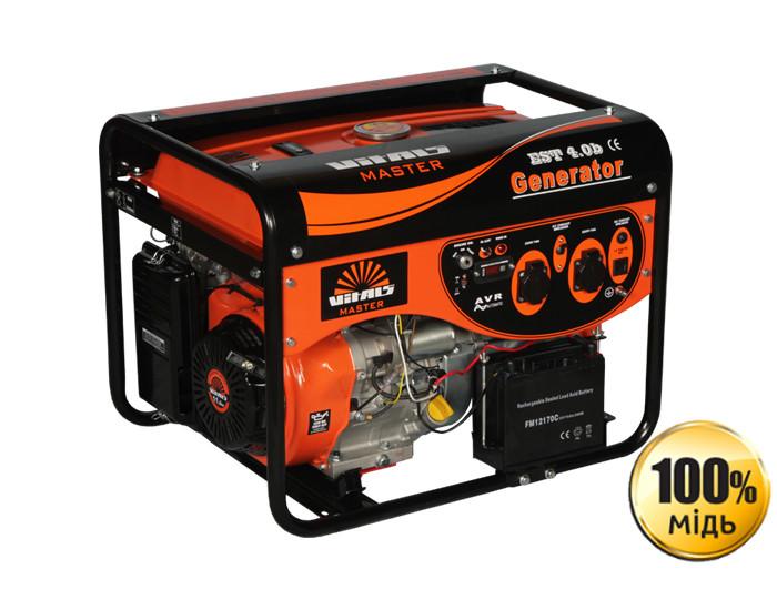 Генератор бензиновый Vitals Master EST 4.0b (4,5кВт)