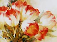 Алмазная вышивка без коробки MyArt Яркие тюльпаны 40 х 30 см (арт. MA597)