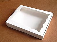Коробка для текстиля Картон, С откидной крышкой, 15х20х3, Коробка, Прямоугольная, Белый