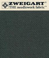 Канва для вышивки Mureno- Aida Zweigart (35х46см) черная 3984/7026