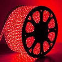 Світлодіодна стрічка червона 2835smd 220V IP68 120 LED