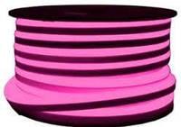 Неон світлодіодний LED 220V IP68 рожевий