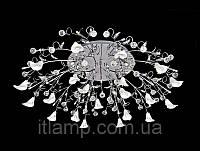 Современный светильник люстра ART5-88040-16-hromBST