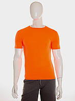 Футболка мужская оранжевая, фото 1