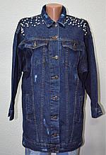 Куртка джинсовая женская МОМ 1508