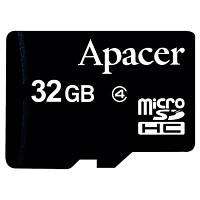 Карта памяти Apacer microSD HC Class4 32Gb w/ o Adapter RP (AP32GMCSH4-RA)