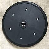 """Прикотуюче колесо в зборі ( диск поліпропілен ) з підшипником  1"""" x 12"""",Great Plains,814-174C, фото 7"""