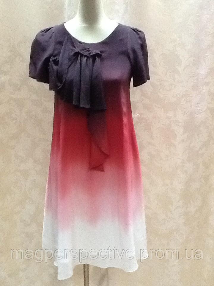 Платье  летнее шелковое LUX копия бренда