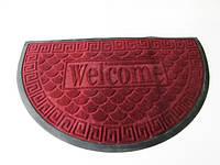 Коврик  Welcom 50 х 80 черный