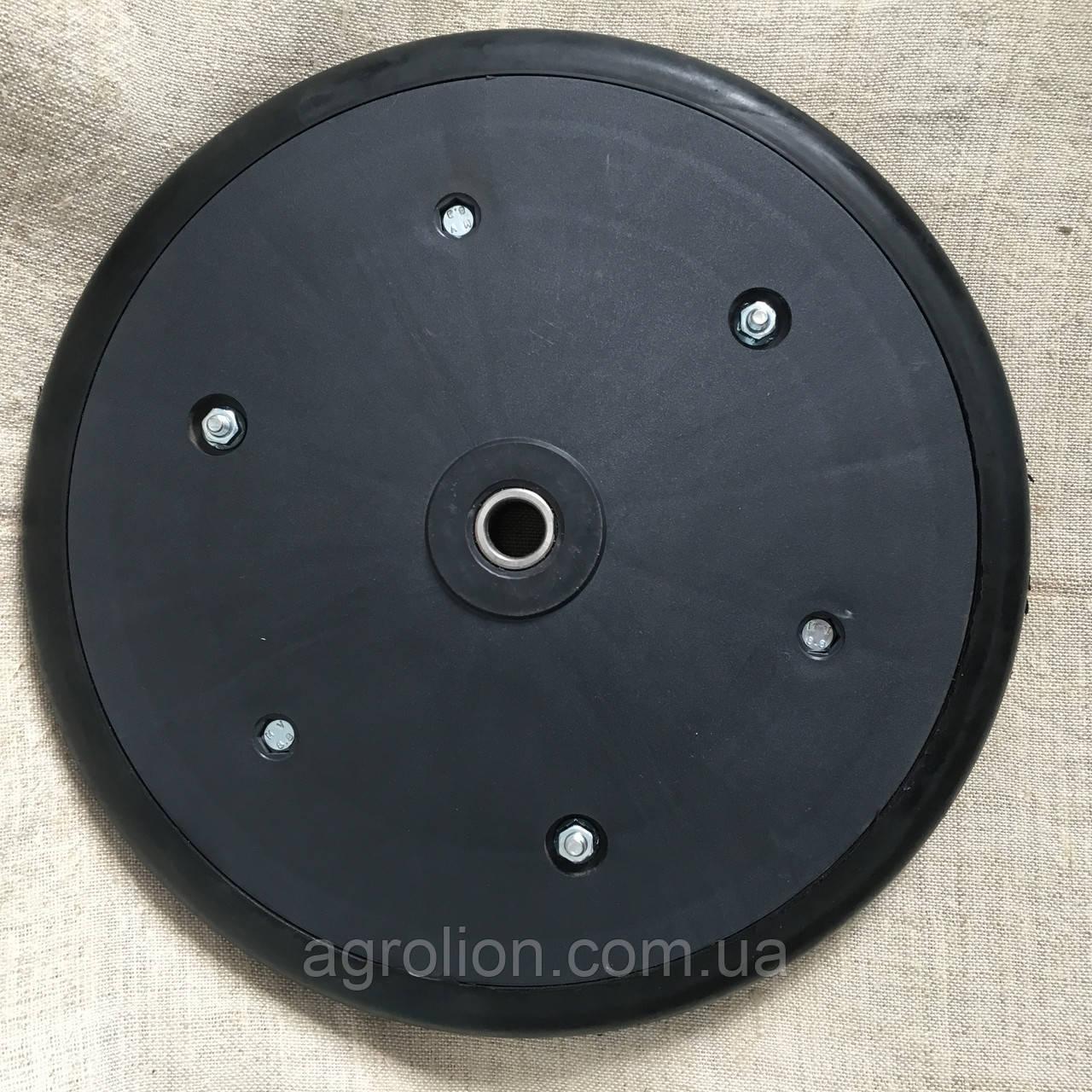"""Прикотуюче колесо в зборі ( диск поліпропілен ) з підшипником  1"""" x 12"""",  masseyferguson, challenger , 8769540"""