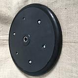 """Прикотуюче колесо в зборі ( диск поліпропілен ) з підшипником  1"""" x 12"""",  masseyferguson, challenger , 8769540, фото 3"""
