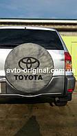 Чехол для запасного колеса TOYOTA Тойота, есть в наличии. С логотипом. Украина