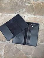 Комплект из кошелька и обложки на паспорт