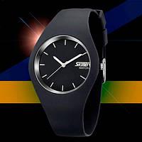 Мужские часы наручные Skmei Rubber Black II