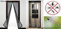 Антимоскитная дверная сетка Magnetic Mesh, антимоскитная сетка, шторка на дверь