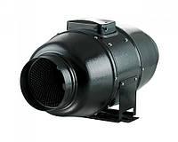Канальный вентилятор ТТ Сайлент М-125 смешанного типа в шумо- и теплоизоляционном корпусе Вентс
