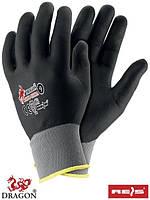 Защитные перчатки, сделанные из смеси нейлона-полиэстера, покрытого нитрила RNIFO-PLUS SB