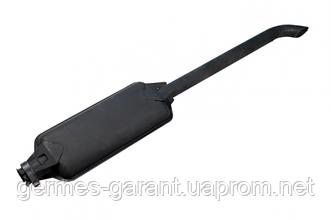 Глушник МТЗ з двигуном Д245 чорний (L = 1370 мм)