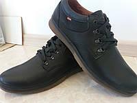 Туфли кожаные осенние