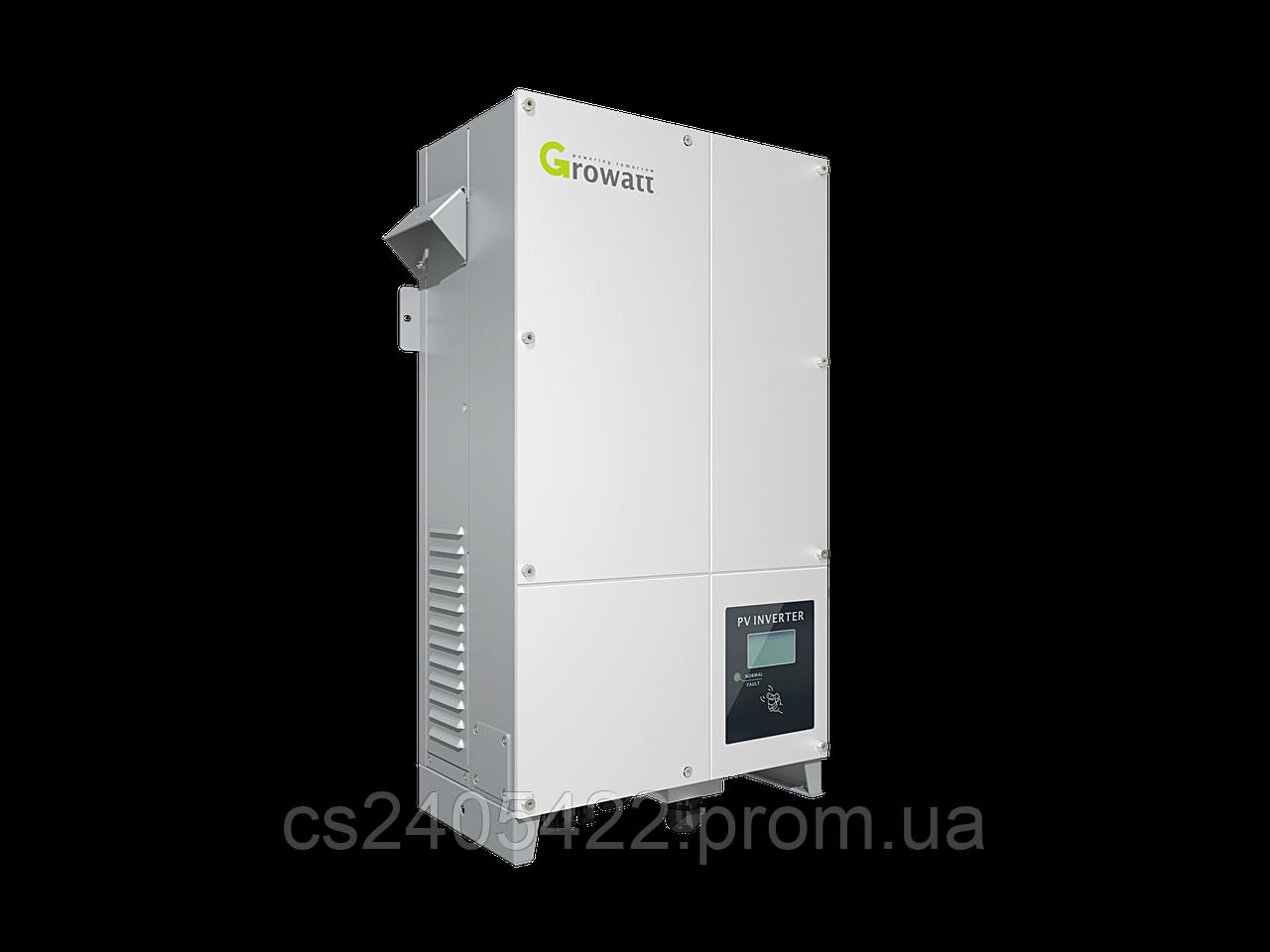 Сетевой инвертор GROWATT 7000UE (7кВ, 3-фазный, 2 МРРТ)