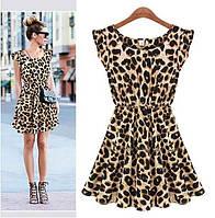 Леопардовое платье..