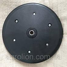 """Прикотуюче колесо в зборі ( диск поліамід) з підшипником  1"""" x 12"""", massey ferguson, challenger , 854262"""