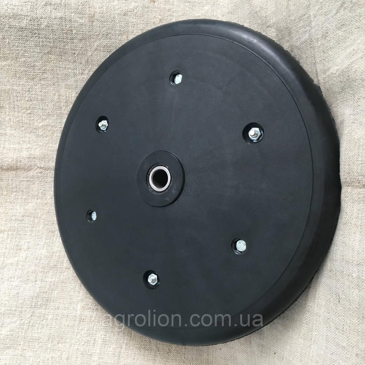"""Прикотуюче колесо в зборі ( диск поліамід) з підшипником  1"""" x 12"""", John Deere,  AA39968"""