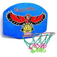 Щит баскетбольный с кольцом 117 Бамсик